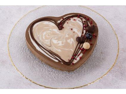 Raw nougat cake srdce cukrari.sk