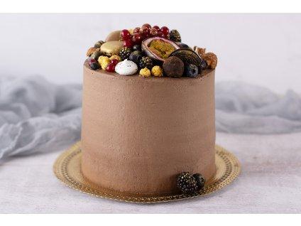 čokoládovo ovocná atyp torta 15cm cukrari.sk