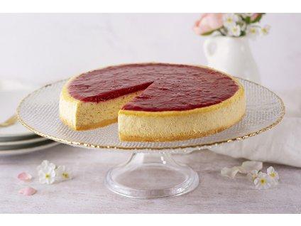Bezlepkový Malinový Cheesecake Bezlepkový Raspberry Cheesecake