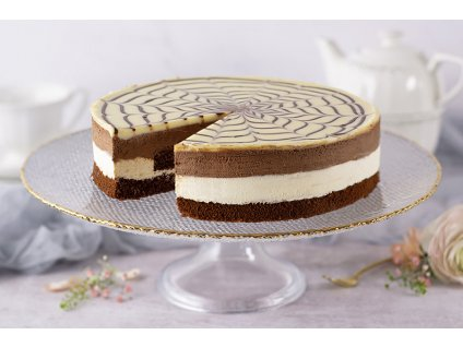 Black & White čokoládová torta Black & White Chocolate Mousse cukrari.sk