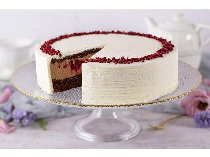 Malinovo čokoládová torta Foret Noire Cake cukrari.sk