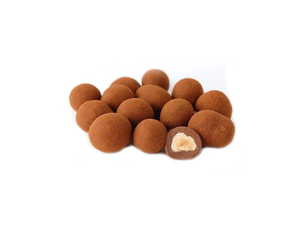 Prazena jadra mandli v mlecne cokolade a skorici