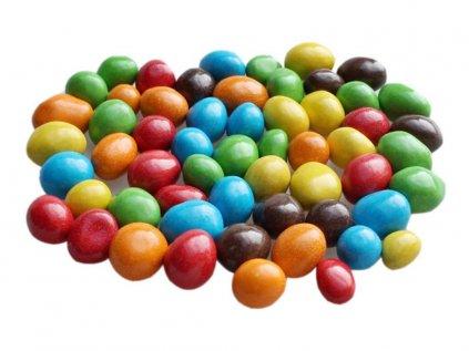 v barevné čokoládě