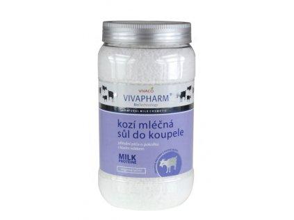 Sůl do koupele s kozím mlékem VIVAPHARM 1200g