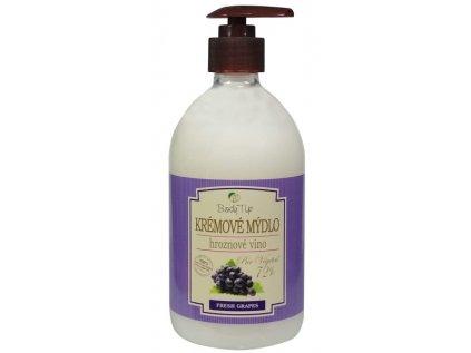 Krémové mýdlo na ruce a tělo Hrozno BODY TIP 500ml
