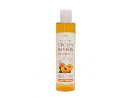 Sprchový šampon Sladká meruňka BODY TIP 250ml