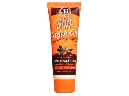 Opalovací krém s arganovým olejem OF 30 SUN VITAL 125ml