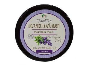 Masážní a tělová mast s levandulovým olejem BODY TIP 100 ML