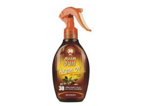 Opalovací olej s arganovým olejem OF 30 SUN VITAL 200ml