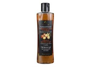 Olejový sprchový gel Makadamový ořech s vanilkou BODY TIP 200ml