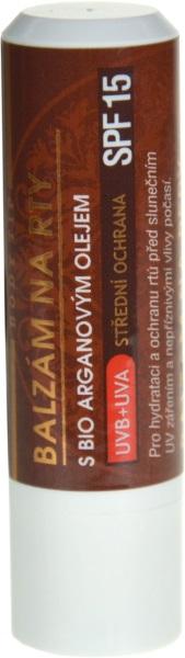 VIVACO Balzám na rty s Bio arganovým olejem SPF 15 BODY TIP 4,2g