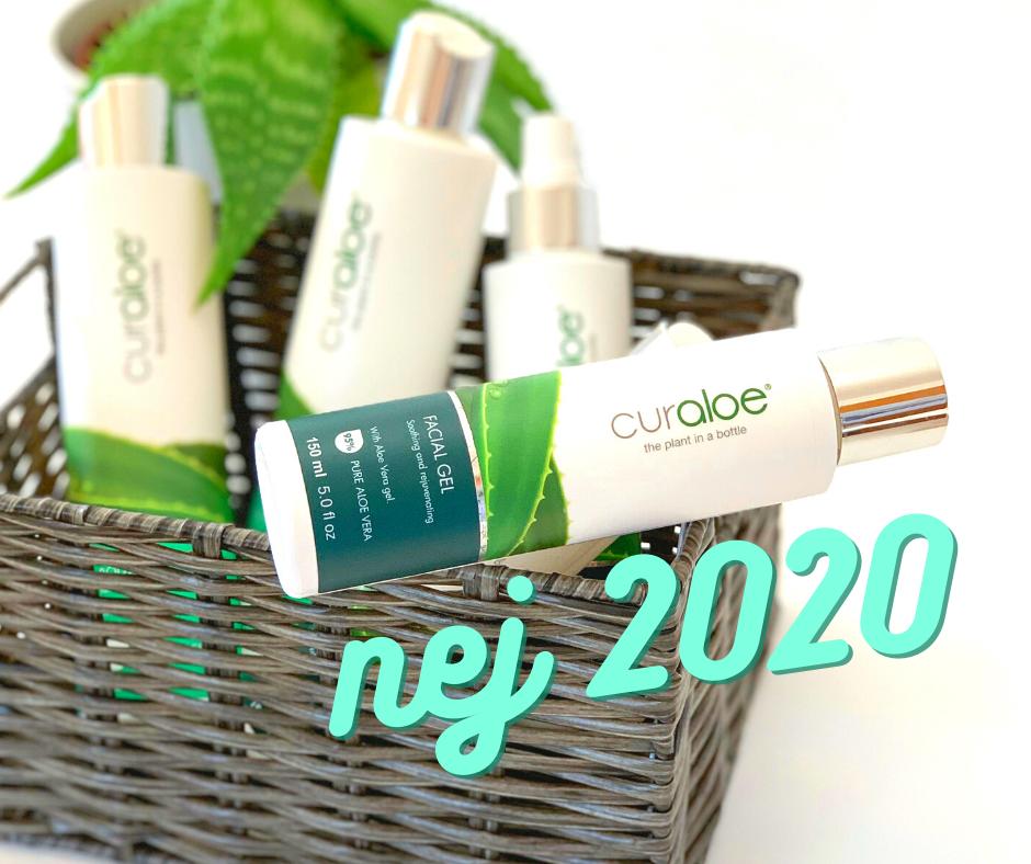 Nejprodávanější výrobky Curaloe v roce 2020