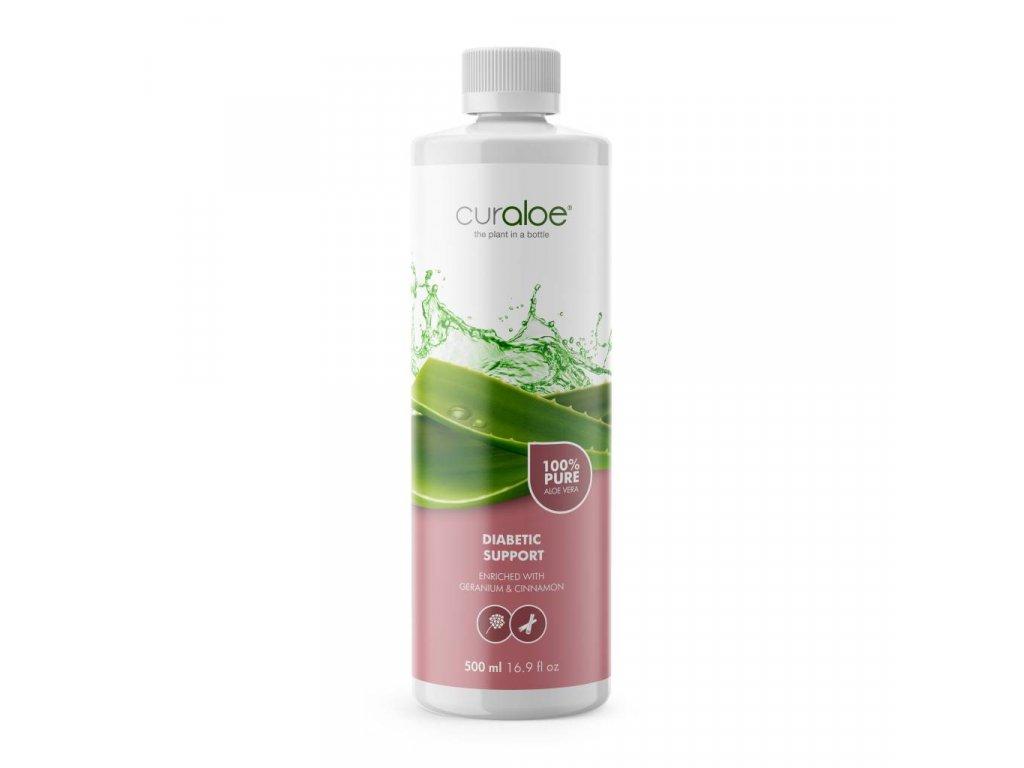 100% Aloe Vera džus pro diabetiky Curaloe 0,5 l
