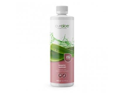 100% Aloe Vera džus pro diabetiky 0,5 l