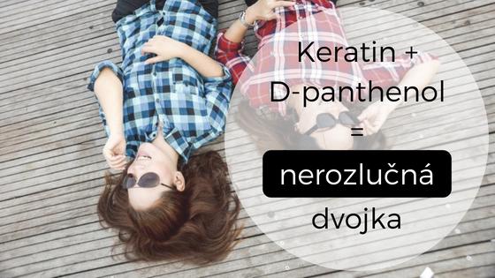 Keratin a D-panthenol: nerozlučná dvojka pro zdravé vlasy