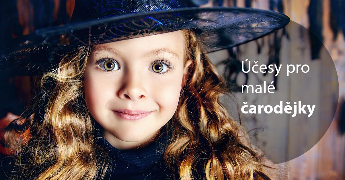 7 tipů na halloweenské účesy pro malé krásnovlásky