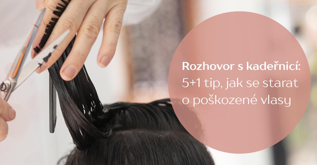 Rozhovor s kadeřnicí: 5+1 tip, jak se starat o poškozené vlasy