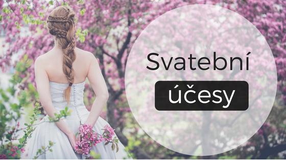 3+3 tipy na svatební účesy zdlouhých i krátkých vlasů