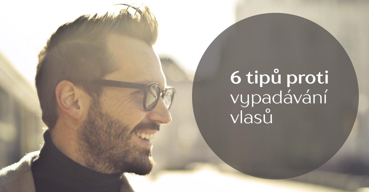 6 tipů proti vypadávání vlasů (nejen) pro muže