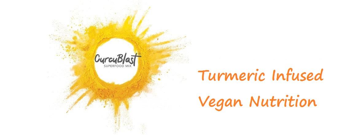 turmeric infused vegan protein logo