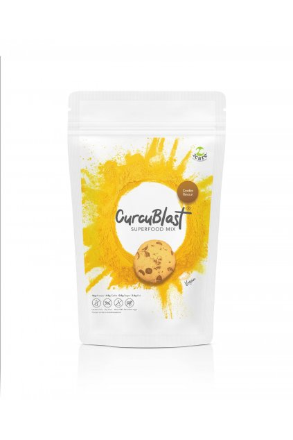 Cookie flavoured turmeric infused vegan protein