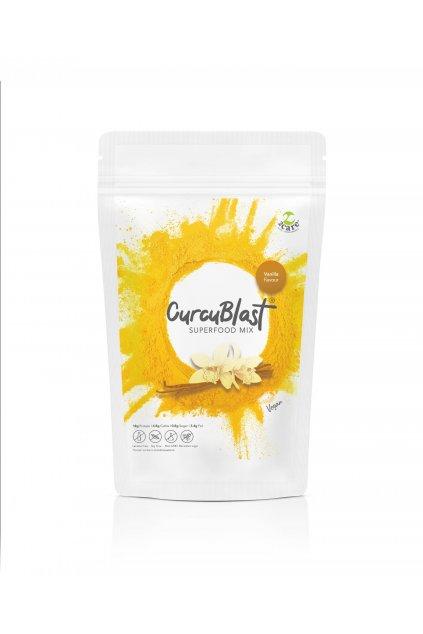 Vanilla flavoured turmeric infused vegan protein