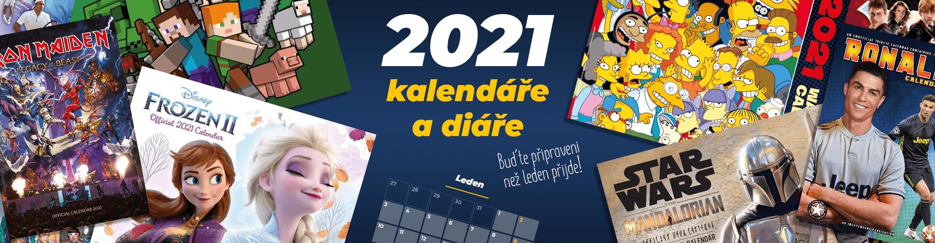 Kalendáře a diáře 2021
