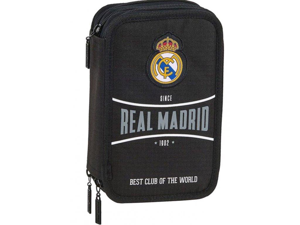 POUZDRO ŠKOLNÍ|REAL MADRID FC  TROJDÍLNÉ|057 12024|41 POLOŽEK