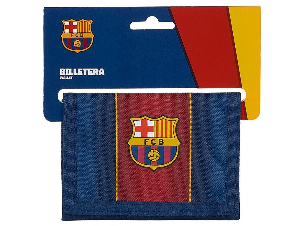 PENĚŽENKA ROZKLÁDACÍ BARCELONA FC  VZOR 036 12029 12,5 x 9,5 cm