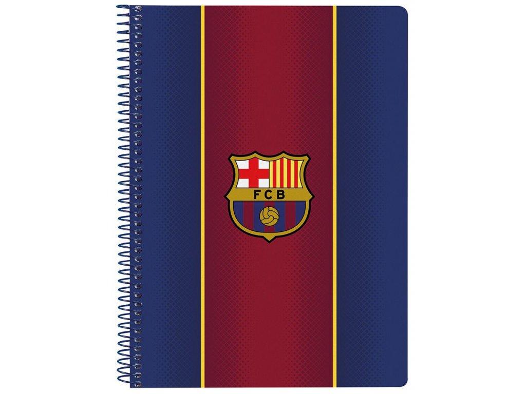 BLOK|SEŠIT A5|BARCELONA FC  A5|80 LISTŮ|SEZÓNA 2020|12029