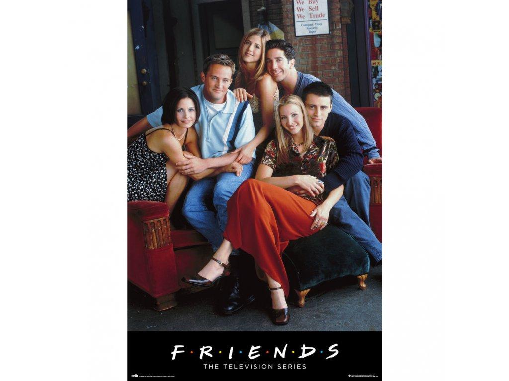 PLAKÁT 61 x 91,5 cm|FRIENDS  CHARACTERS