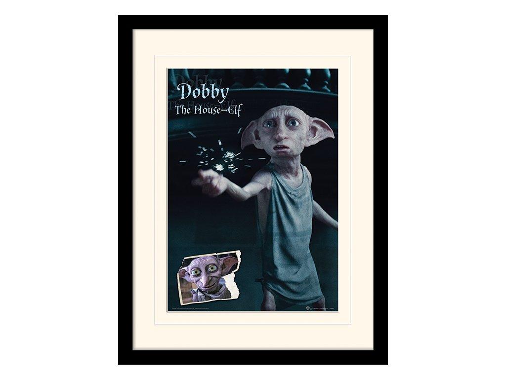 PLAKÁT V RÁMU 30 x 40 cm  HARRY POTTER|DOBBY