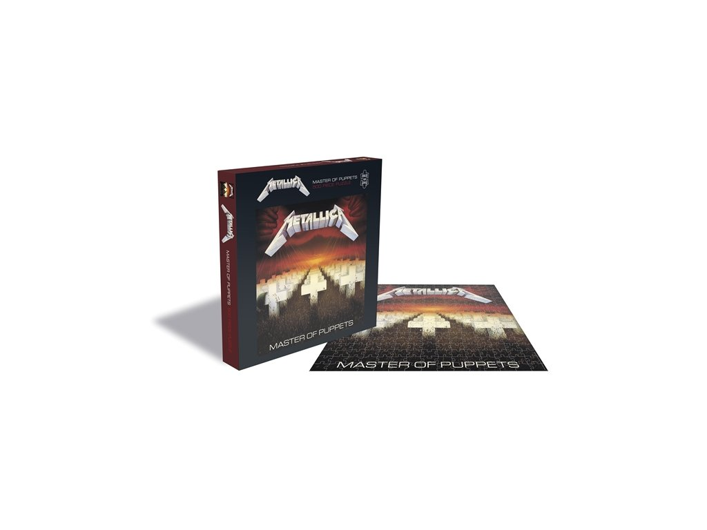 PUZZLE|METALLICA  MASTER OF PUPPETS|500 KUSŮ