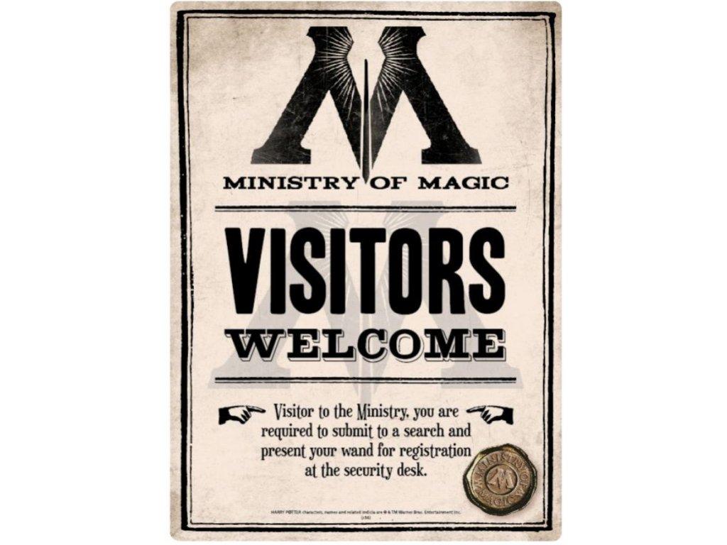 CEDULE NA ZEĎ A5|HARRY POTTER  MINISTRY OF MAGIC|14,8 x 21 cm