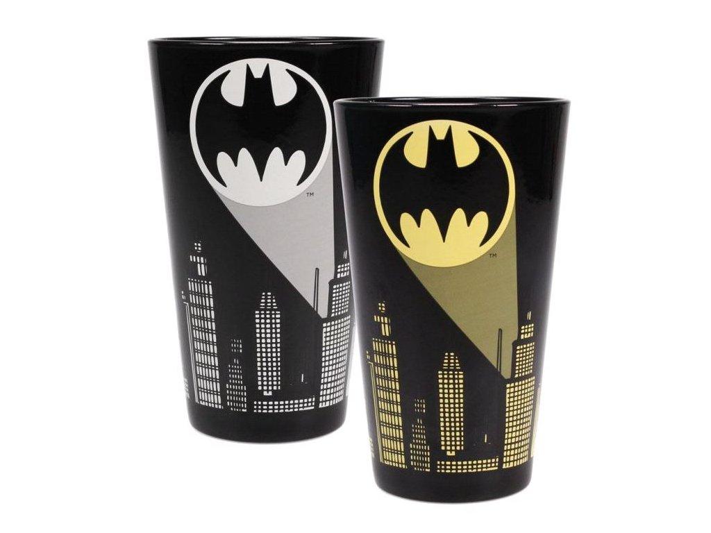 SKLENICE PROMĚŇOVACÍ DC COMICS  450 ml BATMAN SIGNAL
