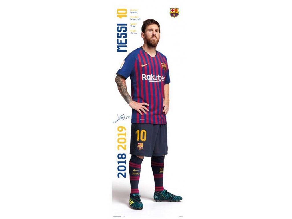 PLAKÁT 53 x 158 cm|BARCELONA FC  MESSI|2018-2019