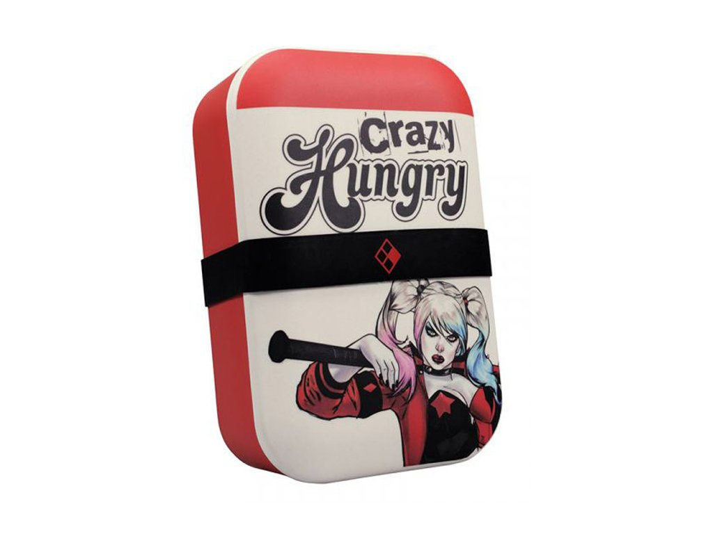 BOX NA SVAČINU|DC COMICS  HARLEY QUINN|CRAZY HUNGRY