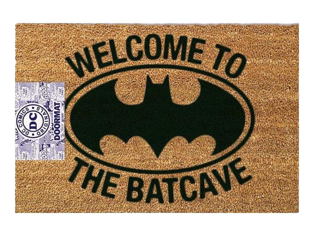 ROHOŽKA DC COMICS BATMAN  WELCOME TO THE BATCAVE 60 x 40 cm