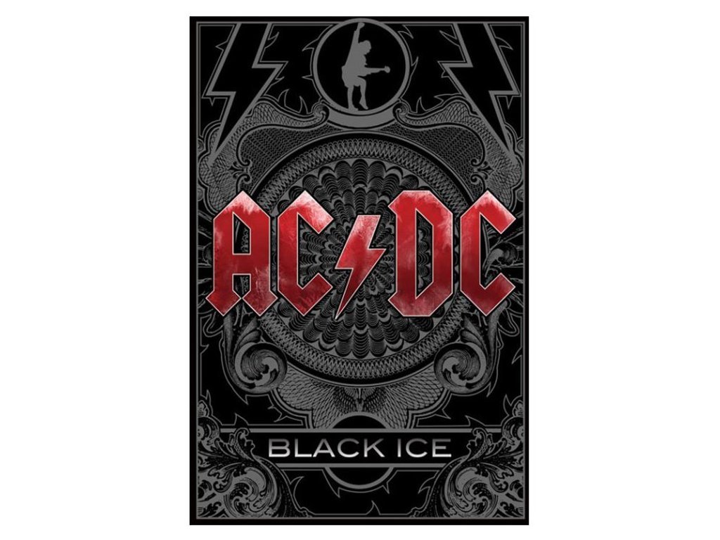 PLAKÁT 61 x 91,5 cm AC/DC  BLACK ICE