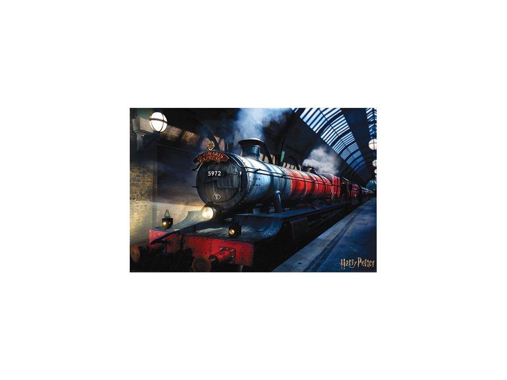 PLAKÁT 61 x 91,5 cm HARRY POTTER  HOGWARTS EXPRESS
