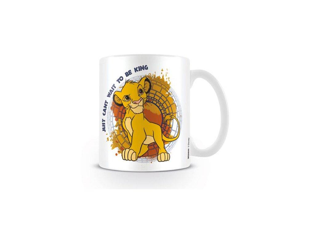 HRNEK KERAMICKÝ DISNEY LION KING  315 ml JUST CAN'T