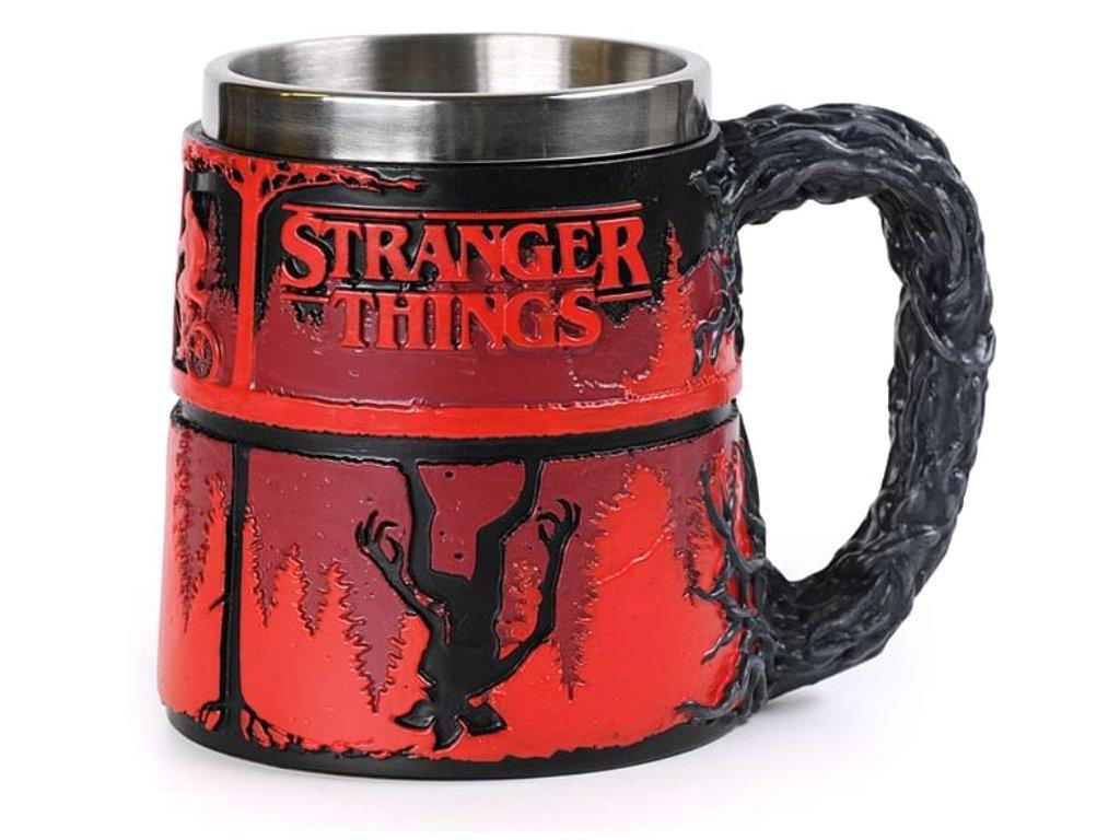 HRNEK 3D NEREZ STRANGER THINGS  350 ml THE UPSIDE DOWN