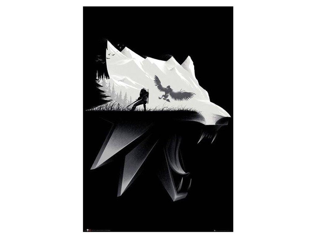 PLAKÁT 61 x 91,5 cm|THE WITCHER  OPEN WORLD