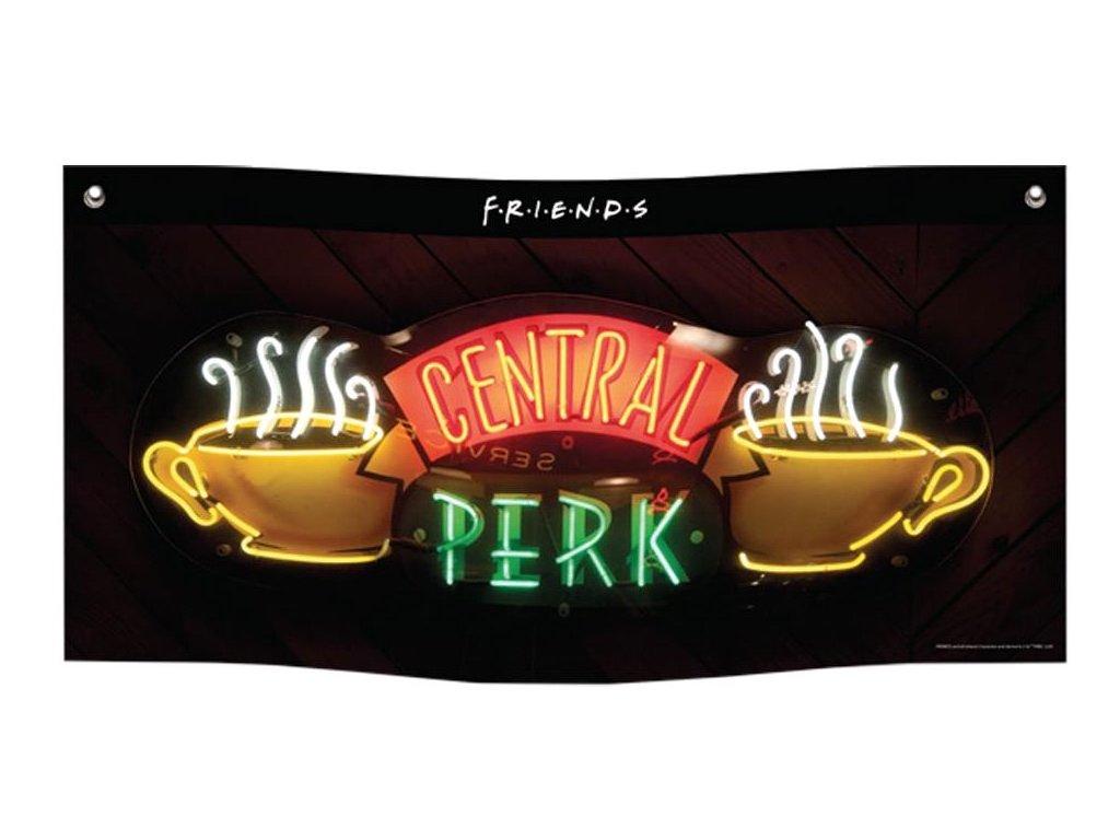 PRAPOR NA ZEĎ|BANNER|FRIENDS  CENTRAL PERK|95 x 47 cm