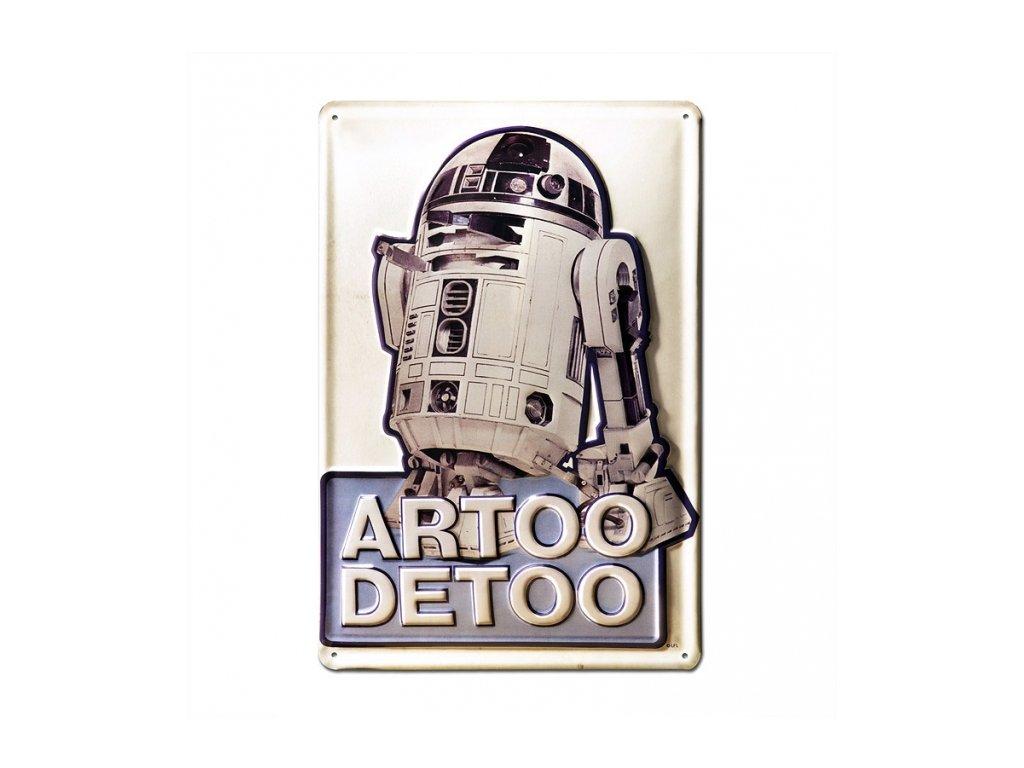 CEDULE NA ZEĎ STAR WARS  A4 20 x 30 cm ARTOO DETOO
