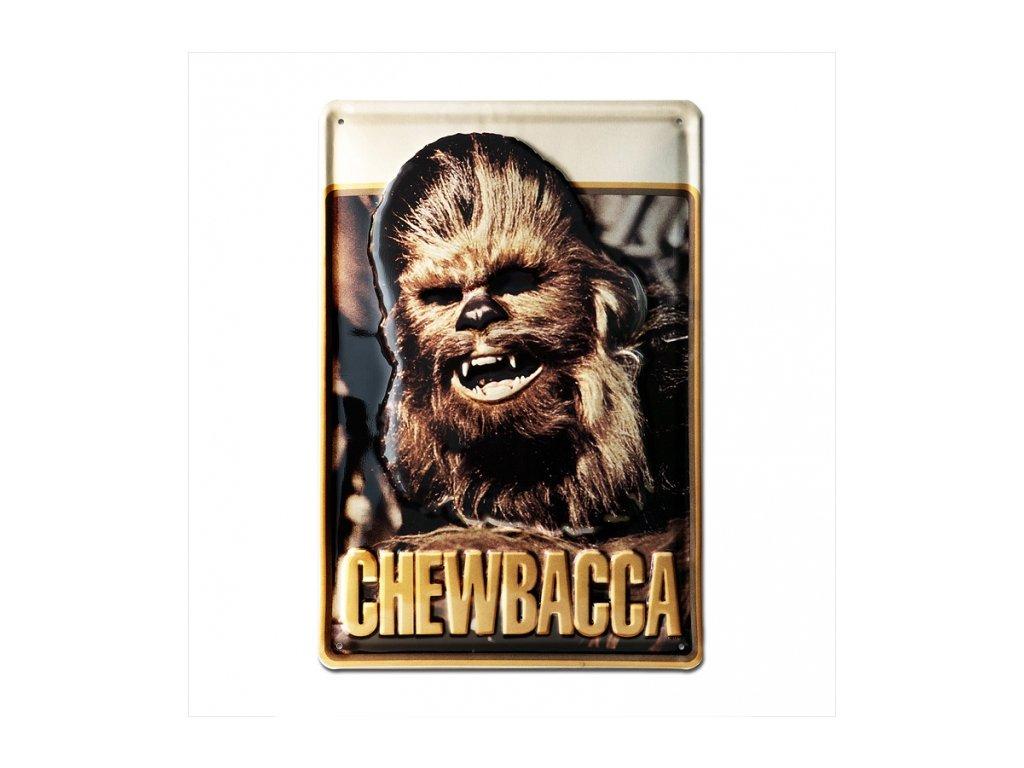 CEDULE NA ZEĎ|STAR WARS  A4|20 x 30 cm|CHEWBACCA