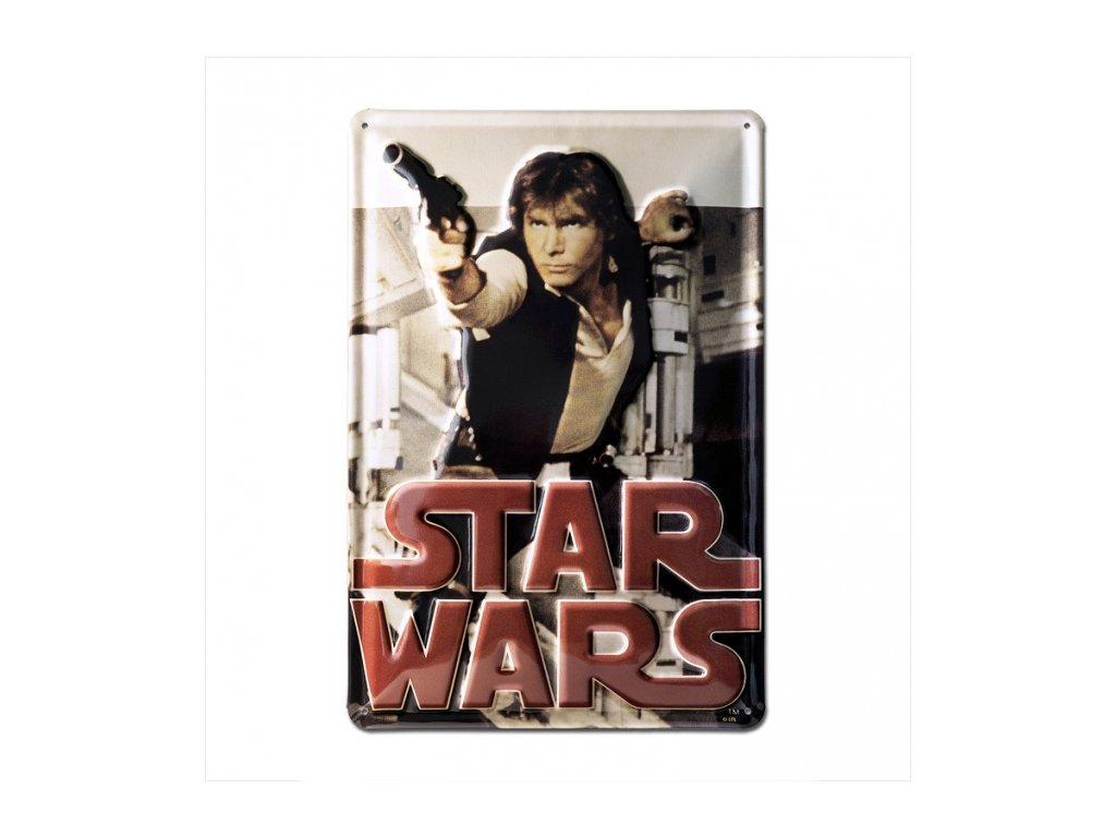 CEDULE NA ZEĎ|STAR WARS  A4|20 x 30 cm|HAN SOLO