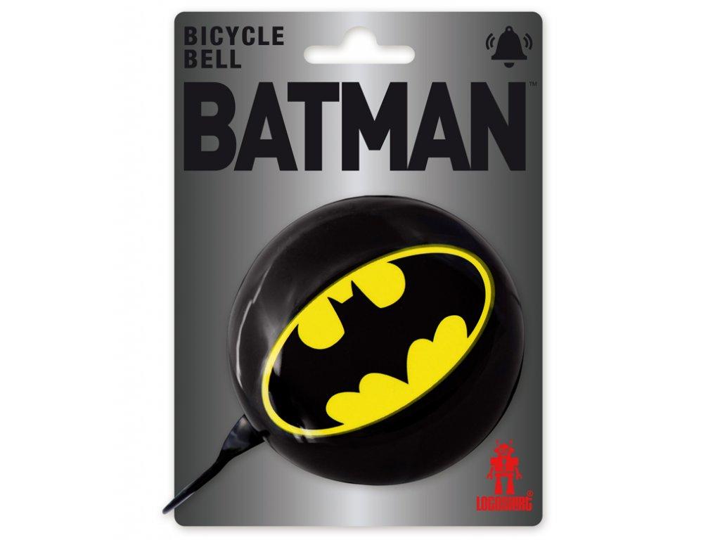 ZVONEK NA KOLO DC COMICS  8,5 cm BATMAN LOGO