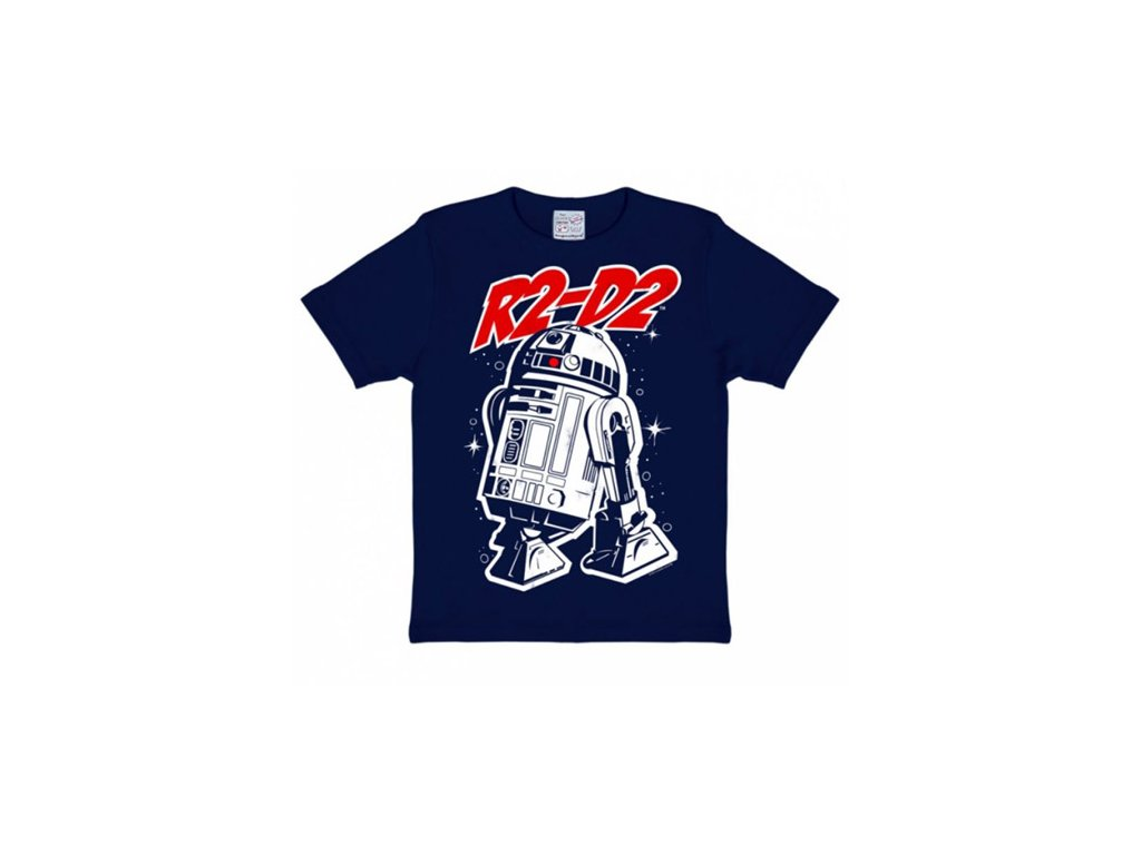 TRIČKO DĚTSKÉ/STAR WARS  R2-D2/MODRÉ