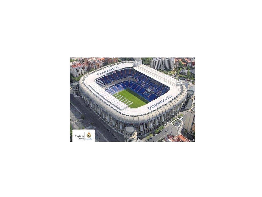 PLAKÁT 61 x 91,5 cm|REAL MADRID FC  SANTIAGO BERNABEU